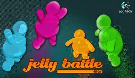 Gioco Jelly Battle + 20% sconto sui prodotti Logitech
