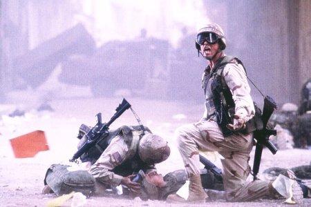 Scena dal film Black Hawk Down