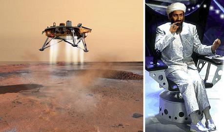 La sonda phoenix in cerca Bin Laden