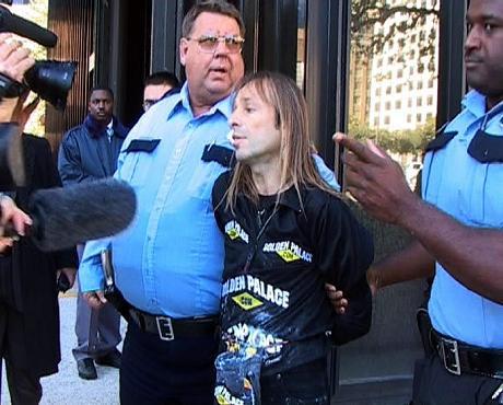 Alain Robert arrestato