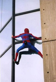 Alain Robert Spiderman