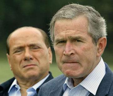 Bush and friend