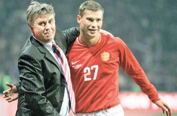 Dmitri Sychev E Guus Hiddink
