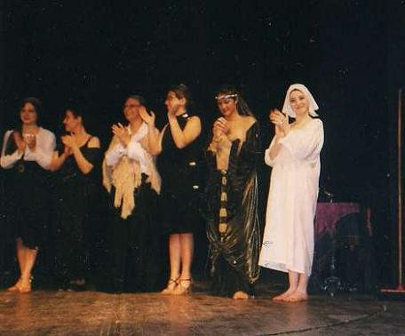 Veronica in Giovanna DArco (Bari-1998)