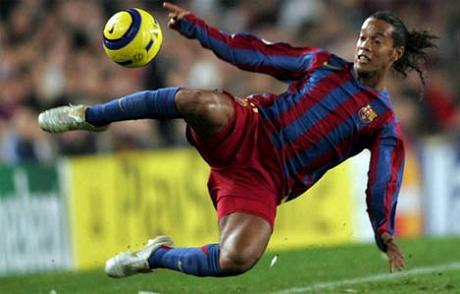 Bagno di folla per Ronaldinho