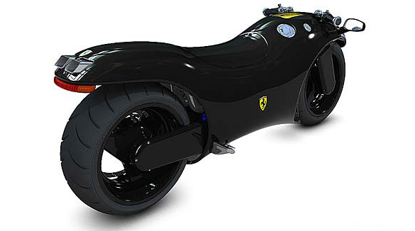 Ferrari V4 Superbike Black