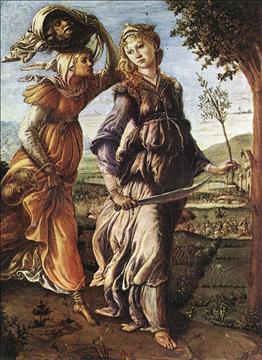 A Milano esposta per la prima volta la Giuditta del Botticelli