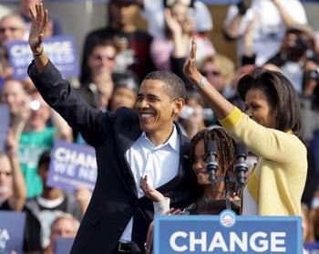Barack Obama 44° presidente degli Stati Uniti d'America