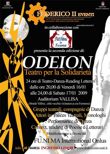 ODEION – teatro per la solidarietà alla seconda edizione