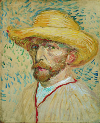 autoritratto Van Gogh