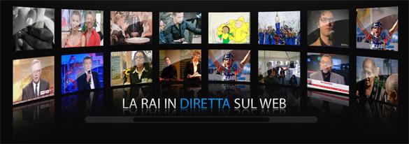 Mamma Rai ha puntato sul web ora è www.rai.it e www.rai.tv con tanti nuovi servizi per tutti gli utenti della rete