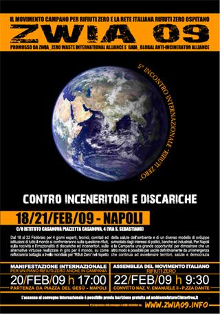 """A Napoli il """"V Dialogo Zero Waste International"""", gli esperti si incontrato per parlare del problema rifiuti"""