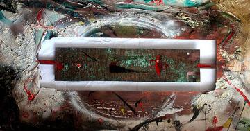 """""""Spazio, Tempo, Materia"""" mostra d'Arte Contemporanea curata da Sabrina Falzone al Caffè Letterario di Roma con tanti artisti"""