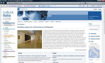 """Cultura Italia, """"Tutti i musei alla portata di un clic"""". Un portale che racchiude tutte le informazioni su archivi, monumenti, biblioteche e tanto altro"""