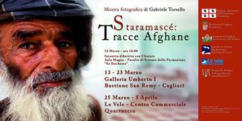 """Gabriele Torsello ospite a Cagliari per presentare la sua mostra """"Staramascé"""" e per parlare di Afghanistan"""