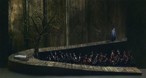 Die Walküre bozzetto di Luigi Perego