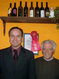 Angelo D'Uva con papà
