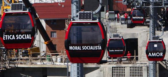 METRO CABLE, 40.000 lavoratori di Caracas migliorano la qualità della loro vita