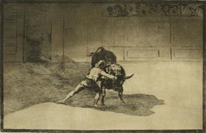 """Francisco Goya, l'eversivo artista spagnolo in terra orobica con:""""Tauromachie ed altre battaglie"""""""
