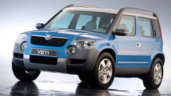Tra leggenda e realtà: la Škoda Yeti ai blocchi di partenza