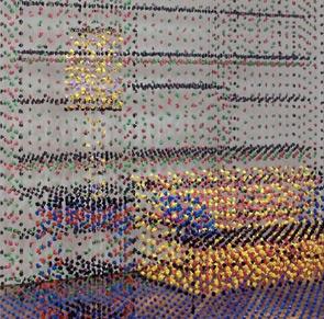 """L'arte in """"Gocce colorate"""", le istantanee e le installazioni sospese di Dorosz"""