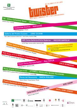 Twister Arte Contemporanea. Progetto della Rete Musei Lombardia per l'Arte Contemporanea