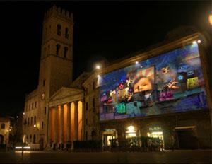 Free Tomorrow, dal 23 dicembre ad Assisi il presepe digitale di Paolo Consorti