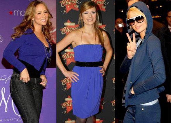 Il blu è il colore degli abiti delle feste