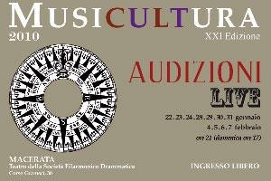 La XXI edizione di Musicultura. Tutti i nomi degli artisti per le audizione live