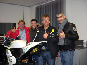 "Party del Fan club ""Michele Pirro"""