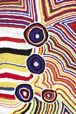 Lsdmagazine l arte aborigena australiana in mostra a roma for Arte aborigena