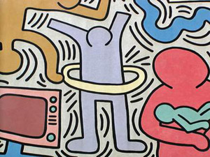La Street Art di Keith Haring ricordata con un libro ed una serata musicale