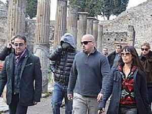 Leonardo Di Caprio tra gli scavi di Pompei e la presentazione di 'Shutter Island'