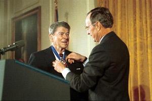 Ronald Reagan e l'economia di libero mercato