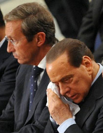 fini e berlusconi