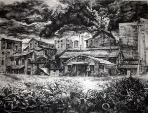 """""""Archeologie"""" la grafica di Roberto Stelluti alla Galleria Don Chisciotte di Roma"""