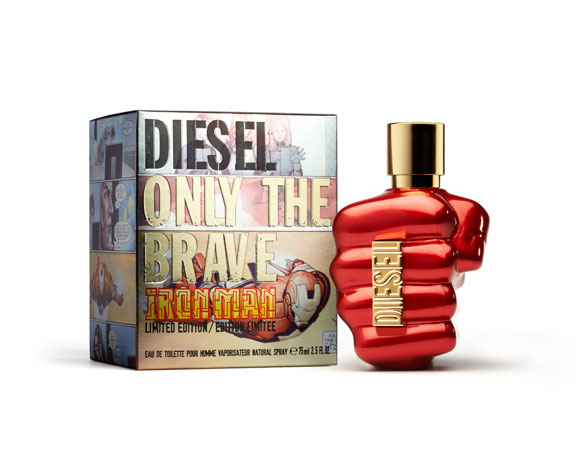 """Diesel e Marvel, insieme per la Limited edition """"IronMan & Only the Brave"""""""