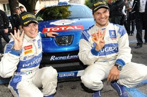 Rally Adriatico per festeggiare i 200 anni di Peugeot