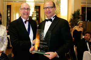 "A Thomas Noll il premio ""Hotel Manager of the Year 2009"""