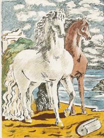 """""""Giorgio de Chirico e il segno"""" in mostra alla galleria """"Divisione Arte"""" di Bari"""