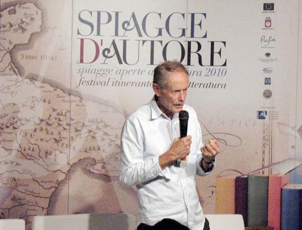 Erri De Luca in Puglia per Spiagge d'Autore, si racconta a Lsdmagazine