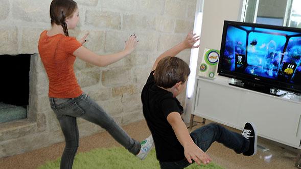 Kinect, la consolle Microsoft del videogioco che coinvolge tutto il corpo