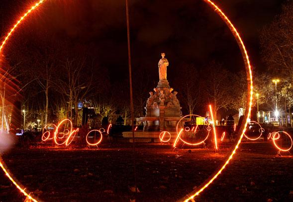 Fete des lumières. Lione incontra migliaia di turisti da tutta europa