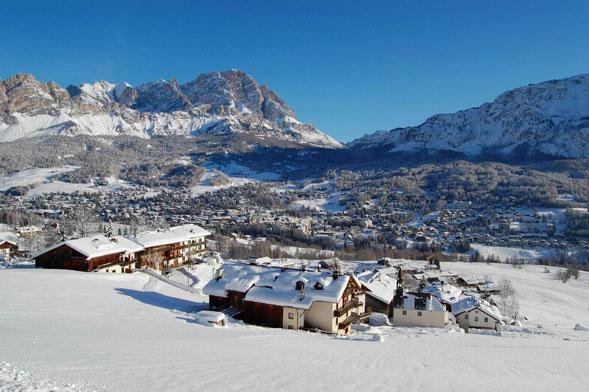 Eurochocolate ski a Cortina dal 16 al 19 dicembre con il bello delle Dolomiti
