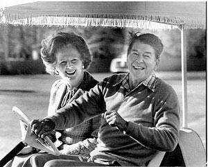 Gli inglesi erano convinti che Reagan era inadatto al posto da Presidente