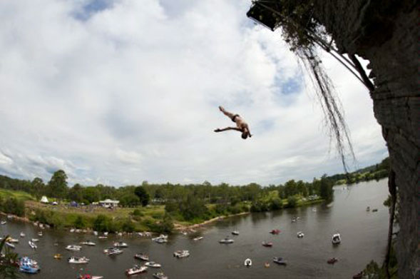 Red Bull Cliff Diving 2011