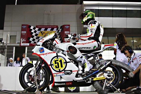 Buona la prestazione di Michele Pirro sulla pista Losail-Qatar del Moto2