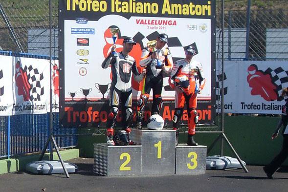 Piero Carrieri vince a Vallelunga il Trofeo Italiano Amatori