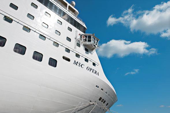 Un 2011 sempre più in crescita per le Navi Msc Crociere dal porto di Bari