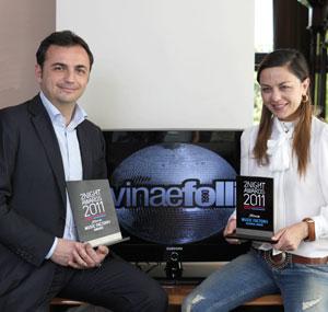 Il Divinae Follie vince a Milano il 2night Awards 2011, l'Oscar della notte